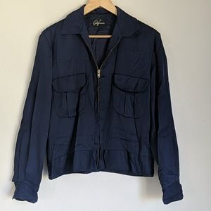 Vintage 50s men's double pocket gabardine jacket